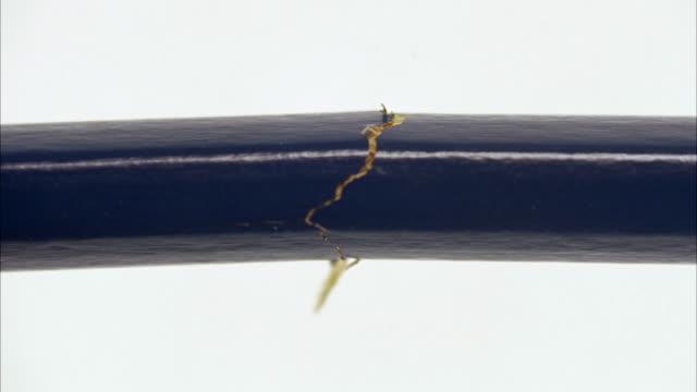 a pencil breaking sweden. - broken pencil stock videos & royalty-free footage