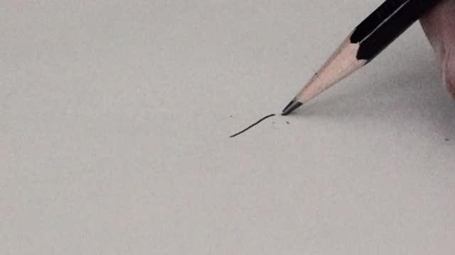 pencil lead snapping - slow motion - broken pencil stock videos & royalty-free footage