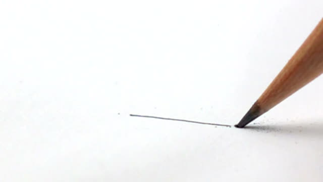 pencil lead snapping - slow motion - pen stock videos & royalty-free footage
