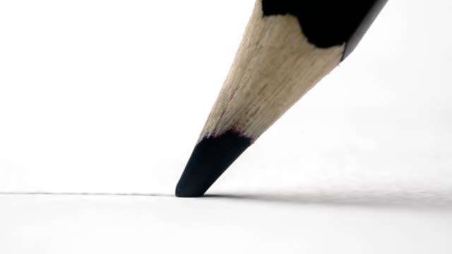 penna spåra en linje - blyertspenna bildbanksvideor och videomaterial från bakom kulisserna