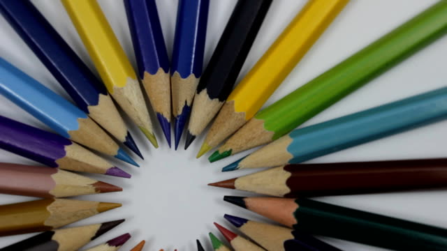 pencils - stationary stock videos & royalty-free footage