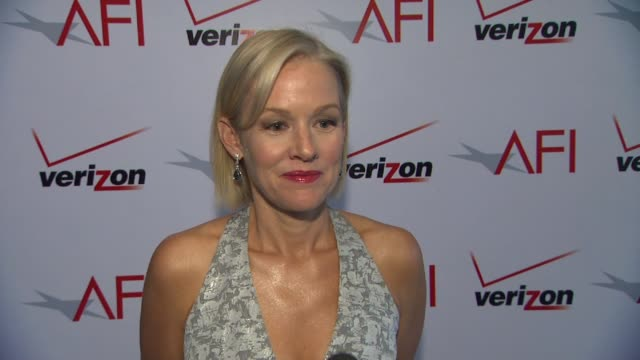 Penelope Ann Miller on what it was like working with Michel Hazanavicius at AFI Awards 2012 Luncheon in Beverly Hills CA on 1/13/12