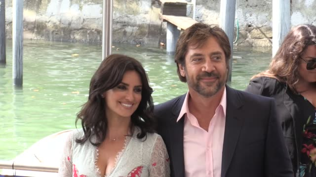 Penelope Cruz and Javier Bardem arriving at Loving Pablo press conference at 2017 Venice Film Festival Venice Italy 6th September 2017
