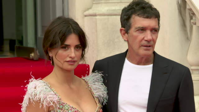 4k penelope cruz antonio banderas at 'pain glory' uk premiere at the opening night of film4 summer screen on august 08 2019 in london united kingdom - antonio banderas stock videos & royalty-free footage