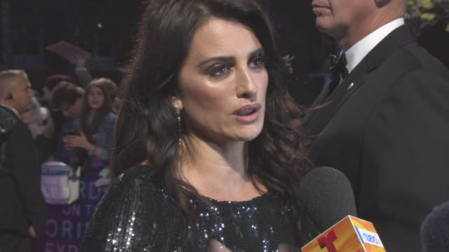 Penelope Cruz at 'Murder on the Orient Express' World Premiere at Royal Albert Hall on November 02 2017 in London England