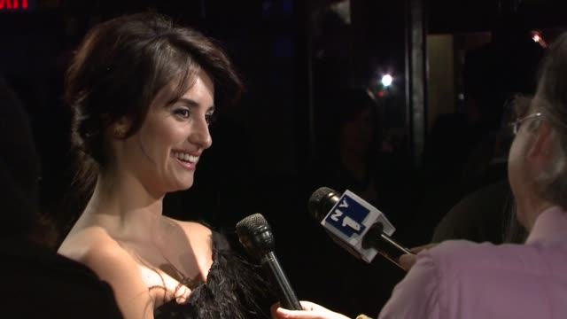 Penelope Cruz at the 2008 New York Film Critic's Circle Awards at New York NY