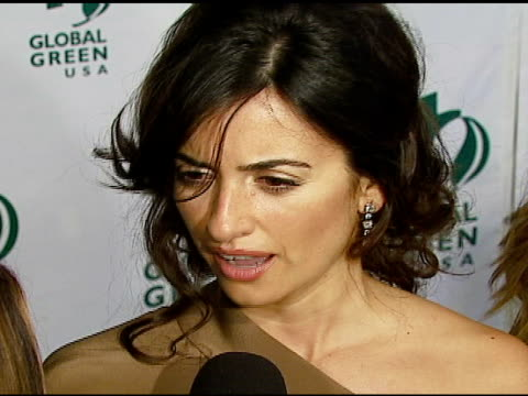 penelope cruz at the 3rd annual pre-oscar party hosted by global green usa on february 21, 2007. - oscar party stock videos & royalty-free footage