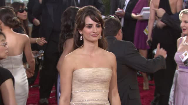 Penelope Cruz at the 66th Annual Golden Globe Awards Arrivals Part 5 at Los Angeles CA