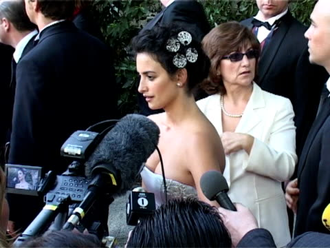 vídeos y material grabado en eventos de stock de penelope cruz at the amfar 'cinema against aids' gala presented by miramax films palisades pictures and quintessentially arrivals at mougins - miramax