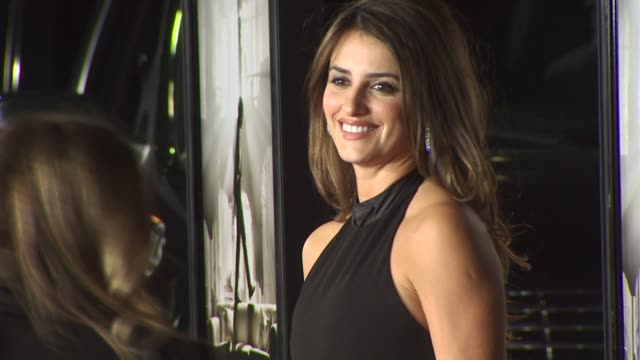 penelope cruz at the 'nine' special screening at westwood ca - penélope cruz stock videos and b-roll footage