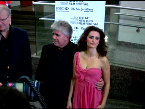 Penelope Cruz at the 'Volver' NYFF Premiere arrivals at Alice Tully Hall at Lincoln Center in New York New York on October 7 2006
