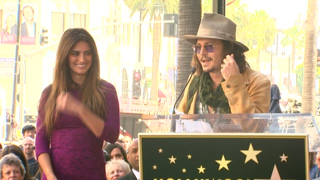 Penelope Cruz Honored With A Star On The Hollywood Walk Of Fame Hollywood CA United States 04/01/11
