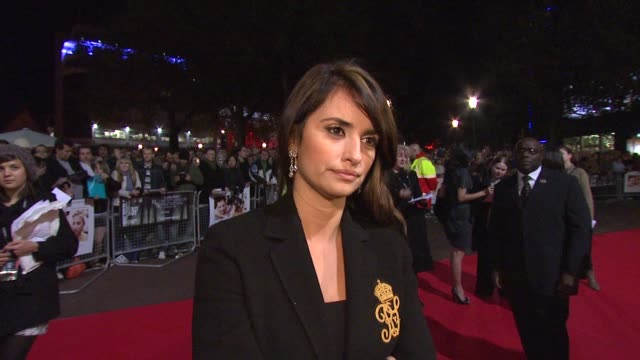 Penelope Cruz on her feelings being involved in the film that is getting allot of praise at the London Film Festival Vicky Cristina Barcelona...