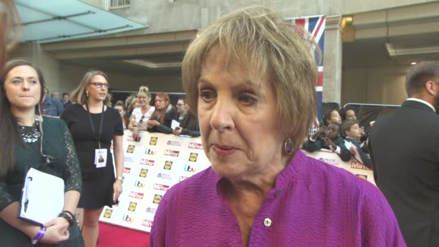 INTERVIEW Penelope Wiltonon her first time at the awards being part of the awards Downton Abbey last shoots at The Daily Mirror's Pride of Britain...