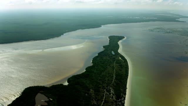 Peninsula In Celestun Biosphere Reserve