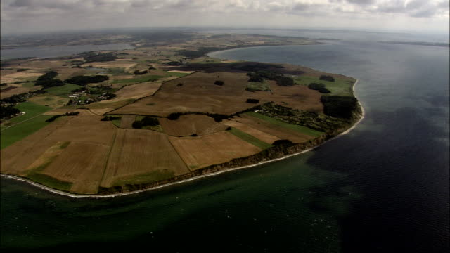 Peninsular East Of Aarhus  - Aerial View - Central Jutland, Denmark