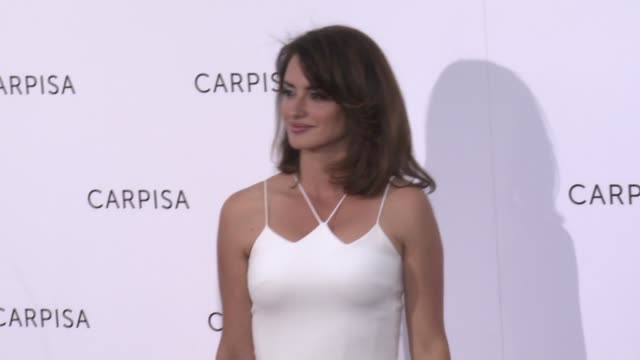 Penélope Cruz Presents Carpisa at Italian Embassy on May 09 2017 in Madrid Spain