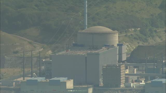 vídeos y material grabado en eventos de stock de penly nuclear power plant - nuclear energy