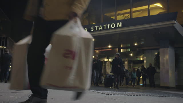 penn station - new york city penn station stock videos and b-roll footage