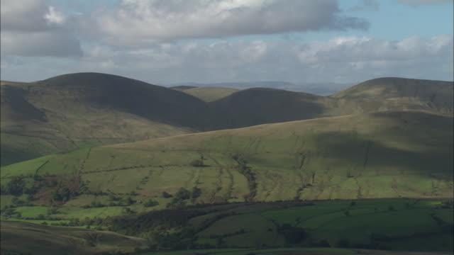 pennine landscape near swaledale - pennines stock videos and b-roll footage