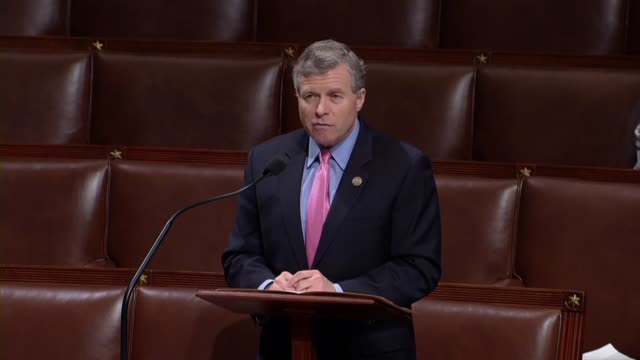pennsylvania congressman charlie dent says in debate on a sixmonth spending bill that it fulfills a commitment to veterans with billions of dollars... - financial accessory stock videos and b-roll footage