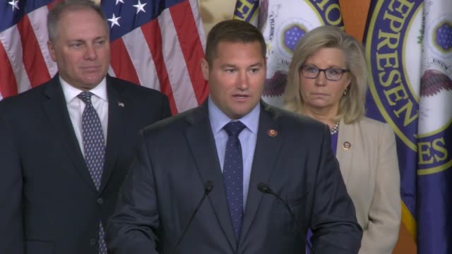 pennsylvania congressman guy reschenthaler says that it weekly press conference of republican leaders that robert mueller's testimony should of been... - testimony stock videos & royalty-free footage