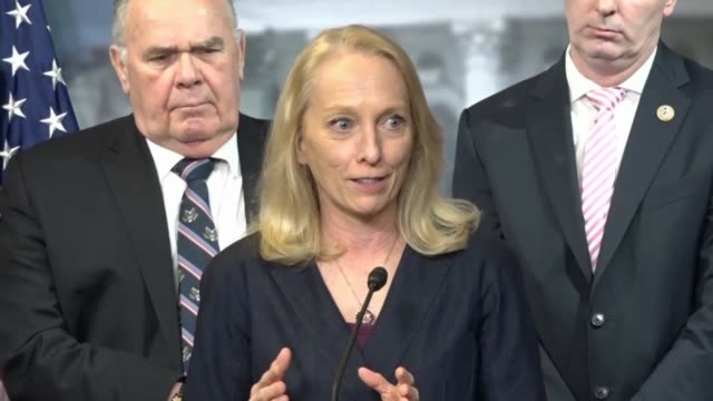 pennsylvania congresswoman mary gay scanlon says at press conference with members of the bipartisan opioid task force to unveil their 2020... - substance abuse stock videos & royalty-free footage