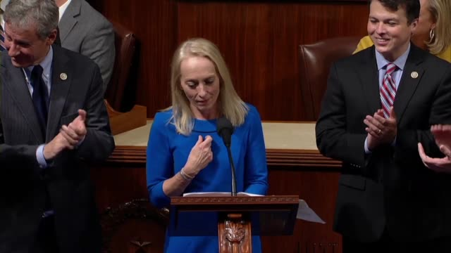pennsylvania congresswoman mary gay scanlon tells members of the house she is part of the advance guard for three other women elected in the 2018... - voting booth stock videos and b-roll footage