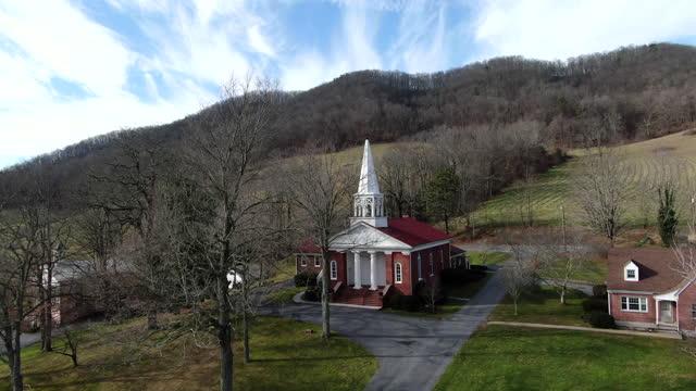 pennsylvania dutch barns - church stock videos & royalty-free footage