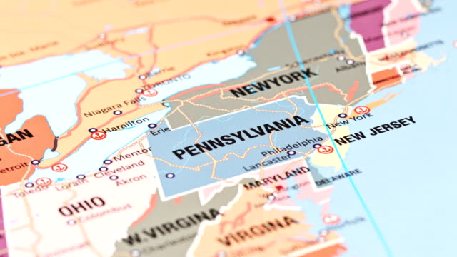 pennsylvania from usa states - pennsylvania stock videos & royalty-free footage