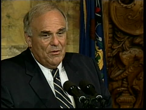 pennsylvania governor ed rendell orders a fiscal furlough at 1201 am - furlough stock videos & royalty-free footage