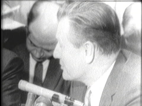 pennsylvania governor william scranton meets with governor nelson rockefeller to promote republican party unity. - united states and (politics or government) stock videos & royalty-free footage