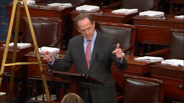 Pennsylvania Senator Pat Toomey says on the Senate floor of the tax cuts and jobs act that the bill will succeed on two accomplishments absolutely...