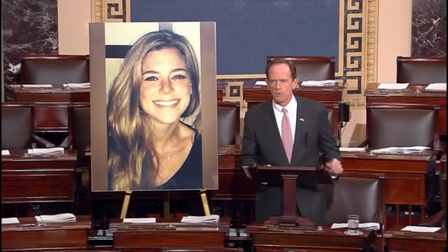 pennsylvania senator pat toomey says that the problems posed by undocumented criminal immigrants is not manufactured describes the murder of kate... - sanctuary city stock videos & royalty-free footage