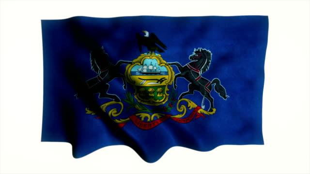 Pennsylvania State Flag Animation