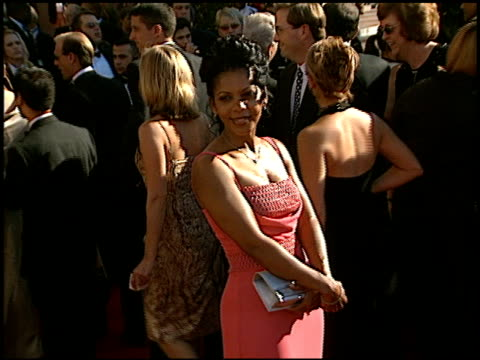 Penny Johnson Jerald at the 2002 Emmy Awards at the Shrine Auditorium in Los Angeles California on September 22 2002