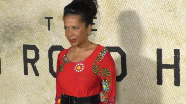 Penny Johnson Jerald at the Premiere Of National Geographic's 'The Long Road Home' on October 30 2017 in Los Angeles California