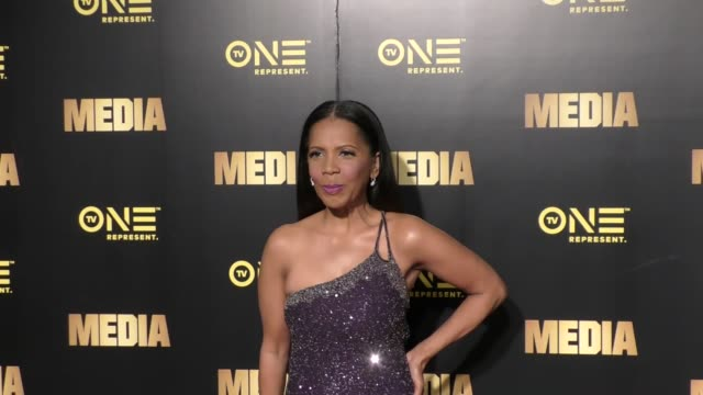 Penny Johnson Jerald at the Special Preview Screening Of TV One's Upcoming Original Movie 'Media' on February 13 2017 in West Hollywood California