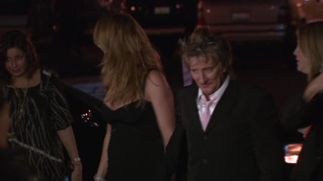 Penny Lancaster and Rod Stewart at the 'Sons of Hollywood' Premiere Launch Party at Les Deux in Los Angeles California on March 29 2007