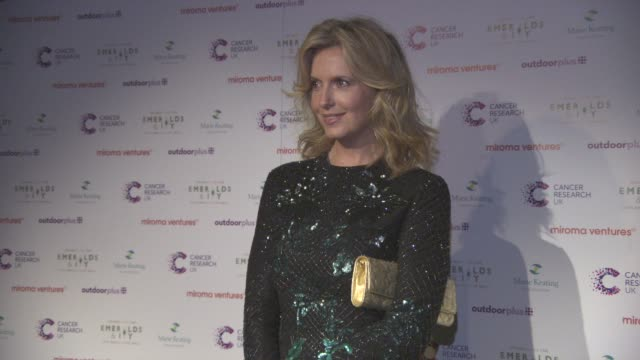 penny lancaster at emerald's ivy ball at emerald's ivy ball at victoria embankment gardens on december 05 2015 in london england - embankment stock videos and b-roll footage