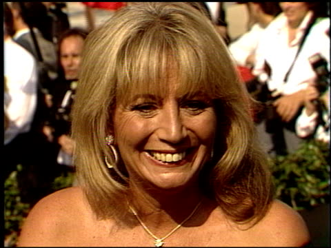 penny marshall at the 1988 emmy awards outside at the pasadena civic auditorium in pasadena california on august 27 1988 - penny marshall stock videos & royalty-free footage