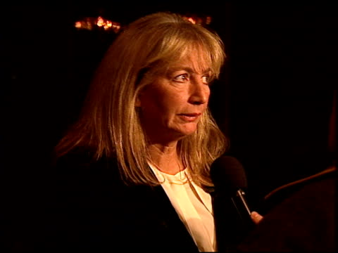 penny marshall at the 'dear god' premiere at paramount studios in hollywood california on october 29 1996 - penny marshall stock videos & royalty-free footage