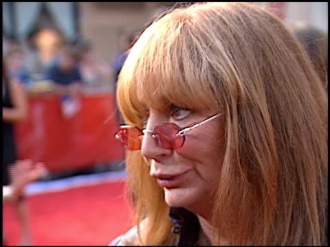 penny marshall at the espy awards at the kodak theatre in hollywood, california on july 10, 2002. - espy awards stock videos & royalty-free footage