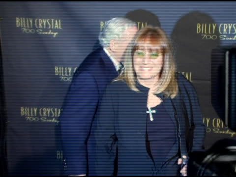penny marshall at the los angeles opening night of the tony award winning broadway show billy crystal '700 sundays' at the wilshire theatre in... - broadway show stock videos and b-roll footage