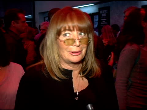 penny marshall on first meeting crystal what it is that crystal does so well professionally and on coming out to support billy at the los angeles... - ペニー マーシャル点の映像素材/bロール