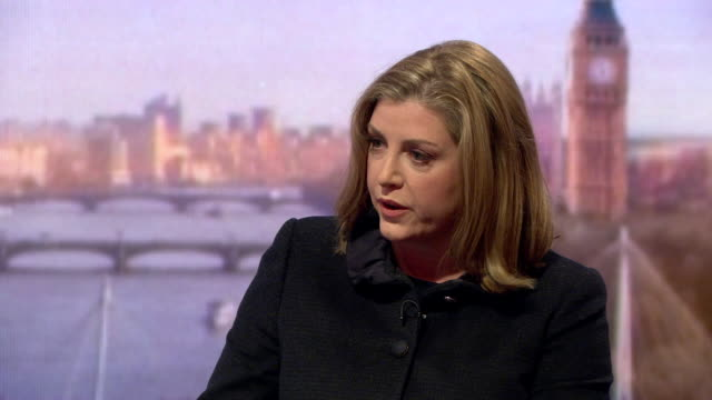 penny mordaunt saying if the moral leadership at the top of an organisation like oxfam isn't there then we can not have you as a partner after... - hispaniola stock videos and b-roll footage