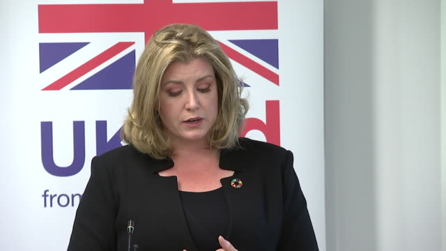 Penny Mordaunt saying she thinks we need to let the Prime Minister and her team get on with Brexit and that she is supporting her