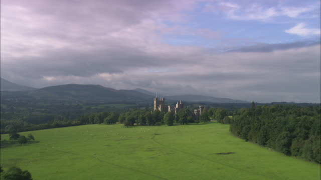 penryhn castle - ancient history stock videos & royalty-free footage