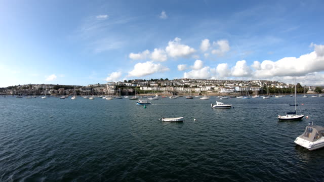 penryn river - falmouth, england - digital enhancement stock videos & royalty-free footage