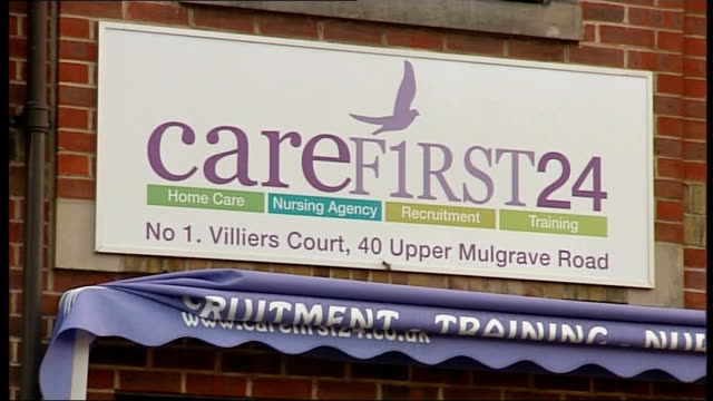 pensioner left to die in own home after being forgotten by social services england surrey cheam ext priory court plants in window of flat 'carefirst... - foster care stock videos & royalty-free footage